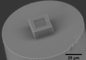 3D Structures on Fiber Tip